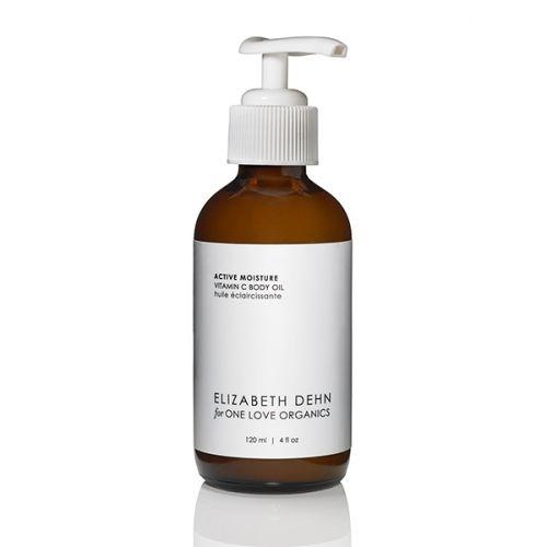 Vitamin C Active Moisture Body Oil - One Love Organics® - beauty from the heart #lovesmellslikepineapple