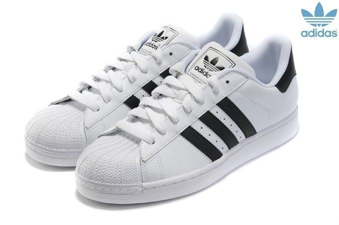 chaussures adidas femme noir et blanche