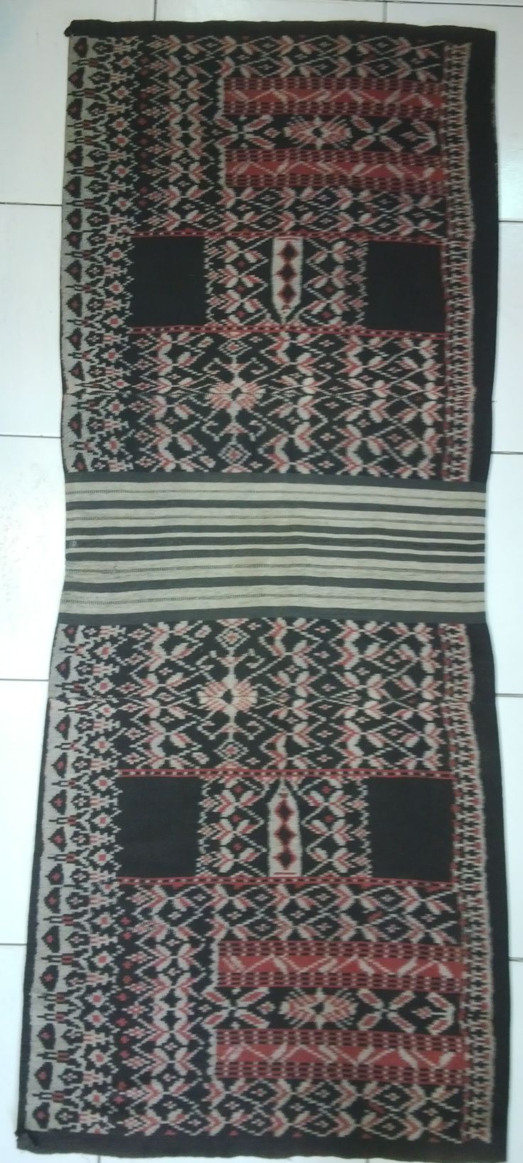 Sarong from rote, indonesia