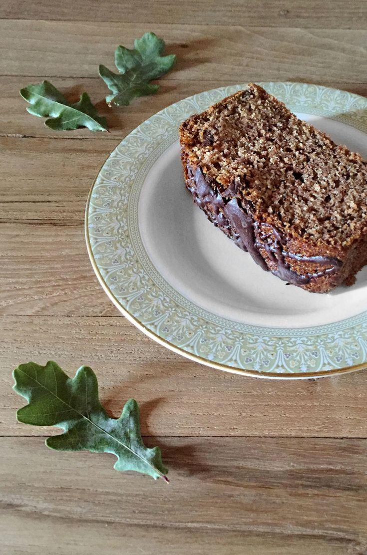plumcake pere e cioccolato * pear and chocolate plumcake, vegan & glutenfree #vegan #glutenfree
