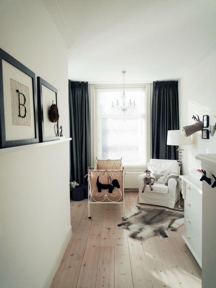 Mooie rustige babykamer | #Nursery classic style