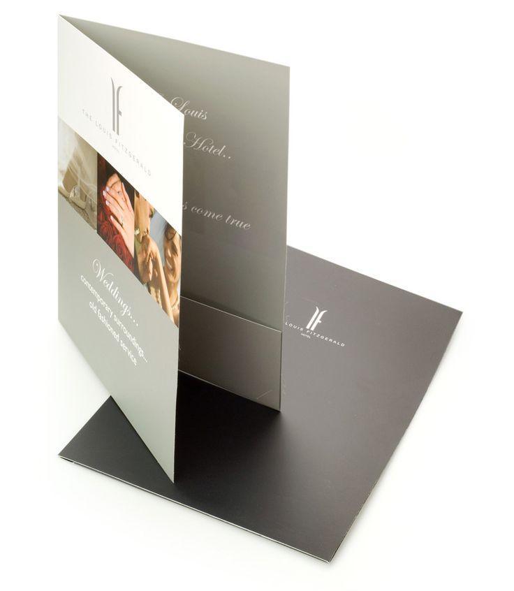Corporate folder printing