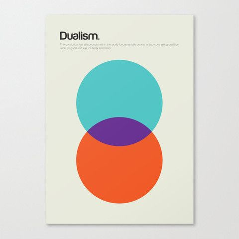 Philographics Poster - Dualism