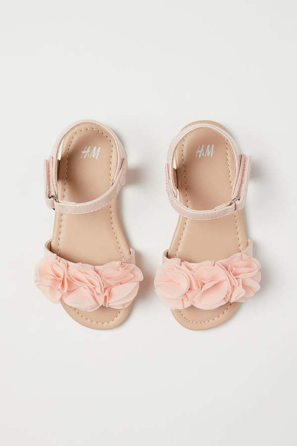 Flower girl shoes, Baby girl sandals