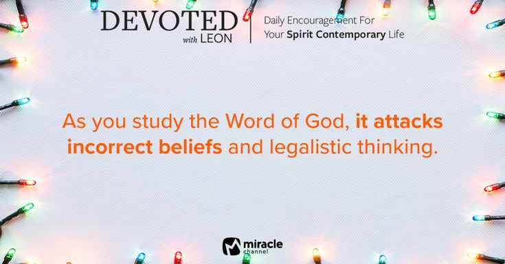 December 29 - Lies About the Heart of God #MiracleChannel #Devoted #December