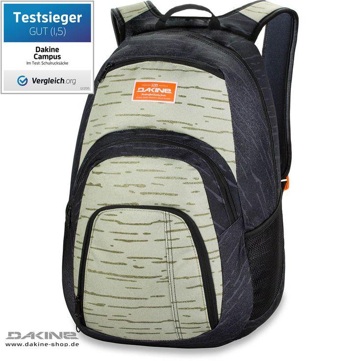 Der Dakine Campus Small ist ein sportlich funktioneller Allrounder Rucksack und zählt mit seinen  geräumigen 25 Litern Volumen  zu den beliebtesten Topsellern der Dakine Schulrucksäcke / Schulranzen . Im großen...
