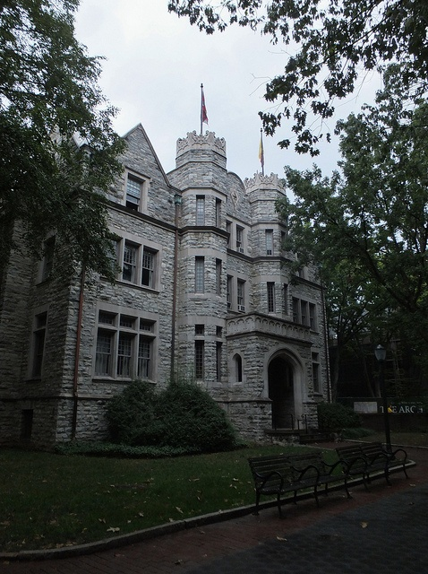 """""""The Castle"""" (Tau chapter of Psi Upsilon Fraternity) at UPenn by aidaneus, via Flickr"""