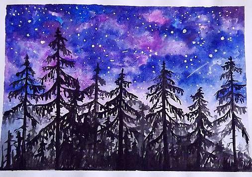 Zuy / Noc v lese