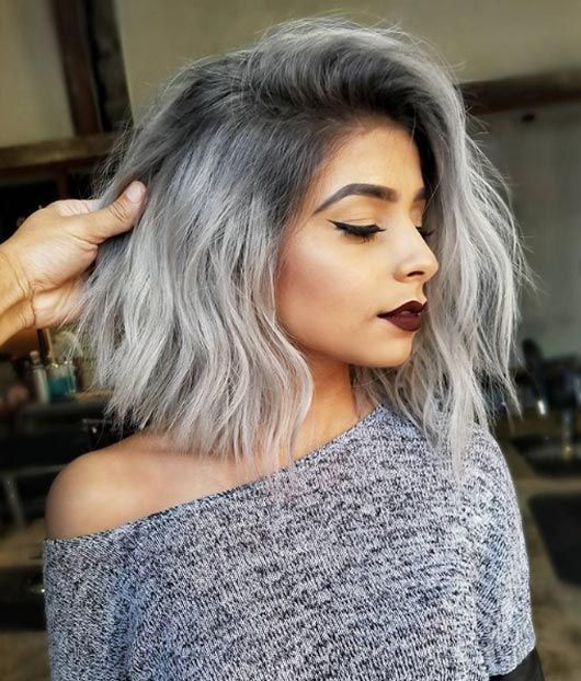 Charcoal silver # Linh Phan hairstyle #books #homedecor #quotes #bts #christmas #wedding #art #recipes #outfits #photography #diy #decor #dresses #fashion #fitness #jewelry #keto #lowcarb #beauty