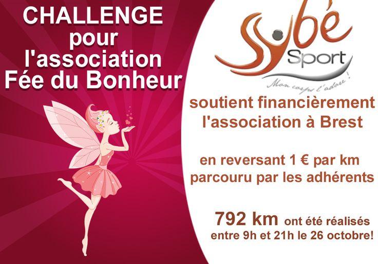 Sybé Sport à #Brest soutient l'association Fée du Bonheur http://www.sybe-sport.com/index.php/actualites-fitness/93-challenge-fitness-association-fee-du-bonheur