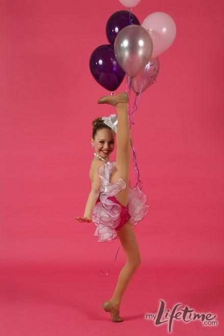 maddie on dance moms! I've never seen this one before!!