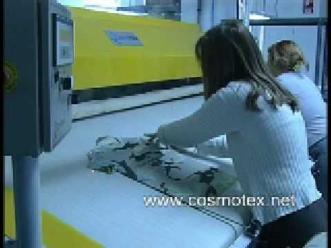 automatic ironing machine- CAM
