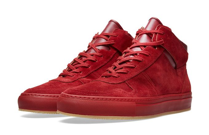 Common Projects' newest model is the B-Ball High Suede