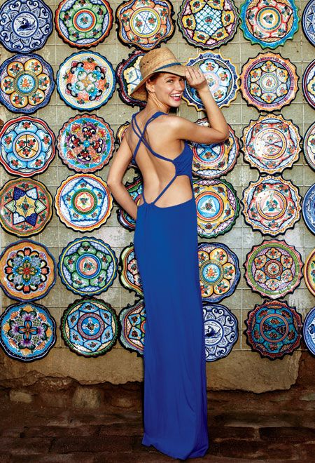 Flaunt your flip side this summer with sexy backless dresses and fun cutouts!