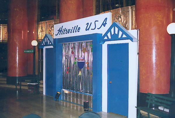 Motown USA party entrance