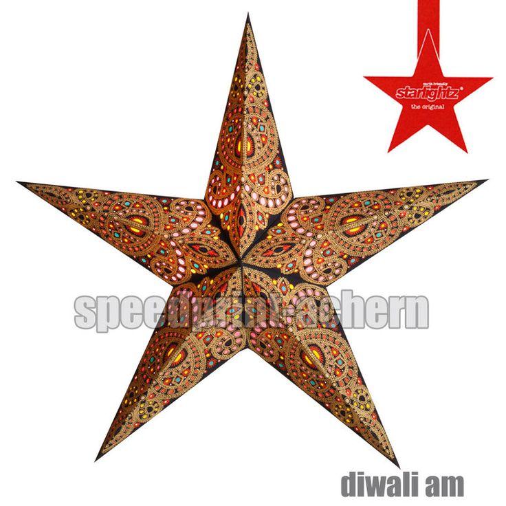 STARLIGHTZ Diwali Amber / rot  5 Spitzen - M