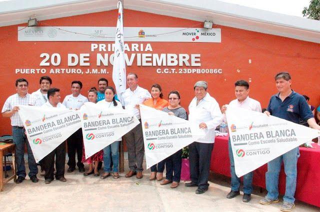 Política y Sociedad: JMM / Bandera Blanca en Puerto Arturo