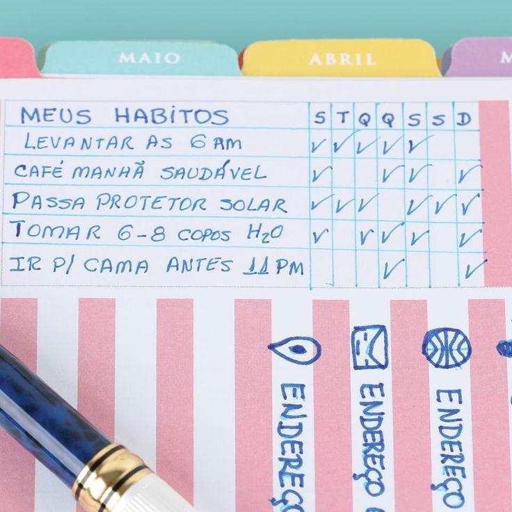 Para mudar hábitos precisamos de motivação. O Daily Planner é motivador e te…