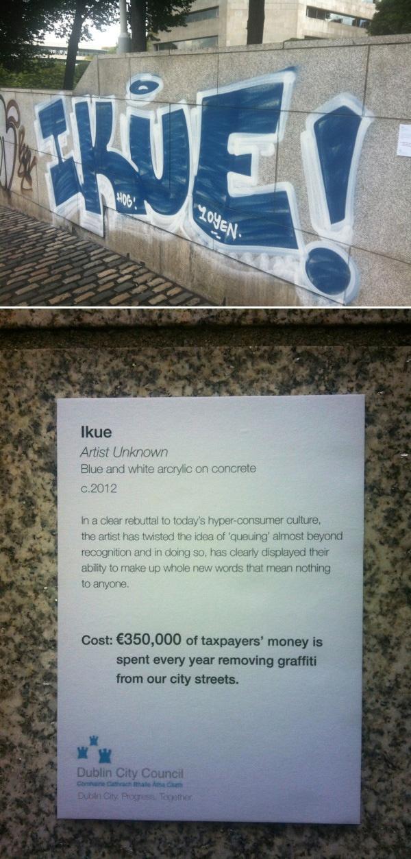funny #graffiti | graffiti | Pinterest | Graffiti and Modern art