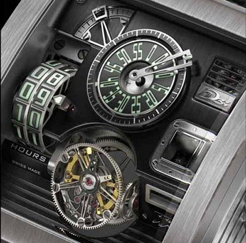 Probably one of the coolest watches ever -Vulcania.  'steampunk+watch'   Only 11 made.
