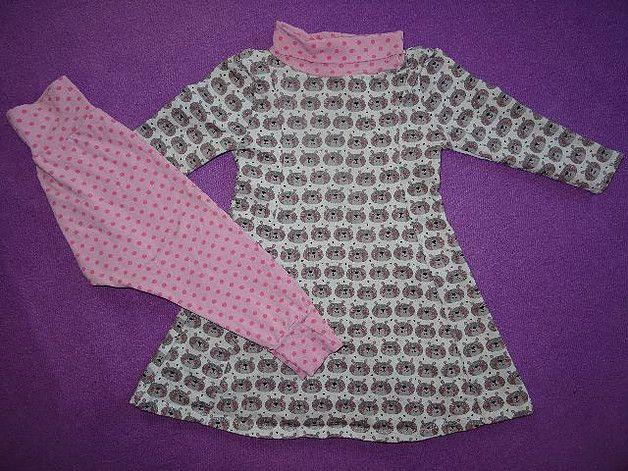 Und hier kommt noch das Geburtstagsoutfit für mein kleines Engelchen. Natürlich musste es ein Kleid sein, da ich finde dass sie in Kleidern...