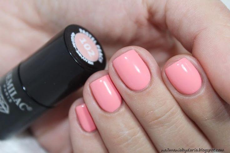 Semilac, 102 Pastel Peach ♥