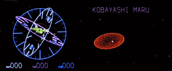 Star Trek II: Kobayashi Maru tactical. Click on it and see what happens!