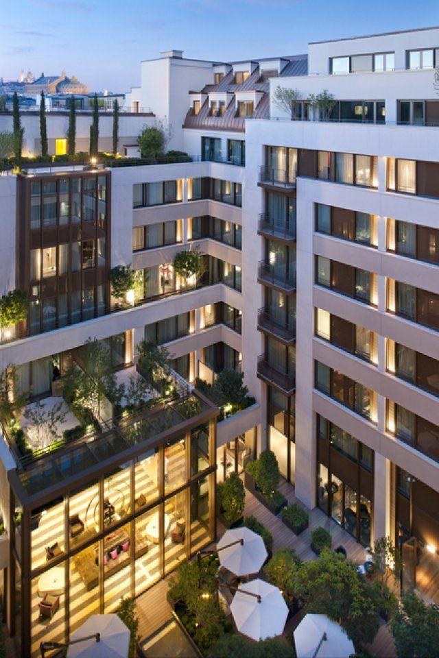 Un ravissant hôtel de luxe Hôtel Mandarin Oriental Paris