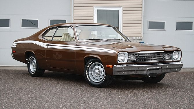 1973 Plymouth Duster 340 340 CI, Automatic presented as lot T120.1 at Kissimmee, FL 2015 - image1