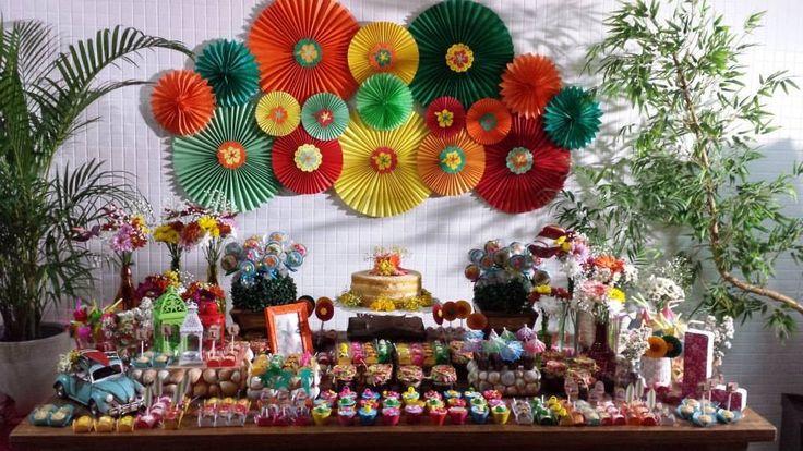 decoracao festa luau:Festa Lual!
