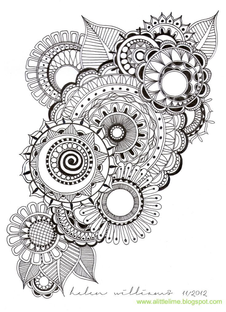 17 best zentangles images on Pinterest