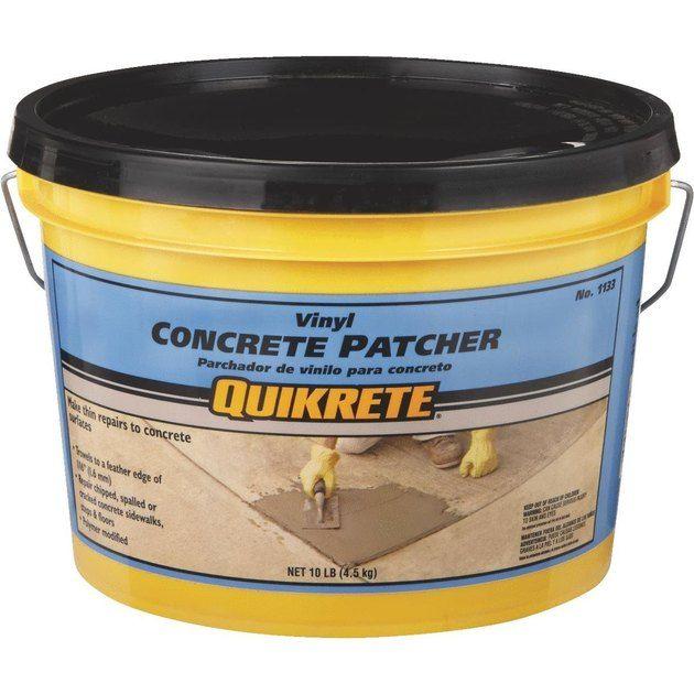 How To Repair Cracks In Concrete Vinyle