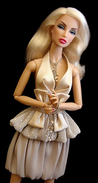 Please tell me who has time to make such intricate outfits for a doll?!