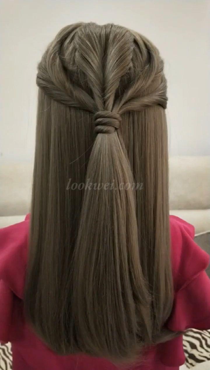 50 fabulous updo video ideas for long hair - Hairstyles #Geflochtene Frisuren #Frisuren hochzeit #frisuren