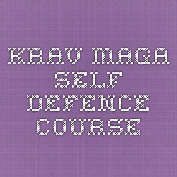 Krav Maga Self-Defence Course