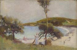 Coogee Bay 1888 - Charles Conder