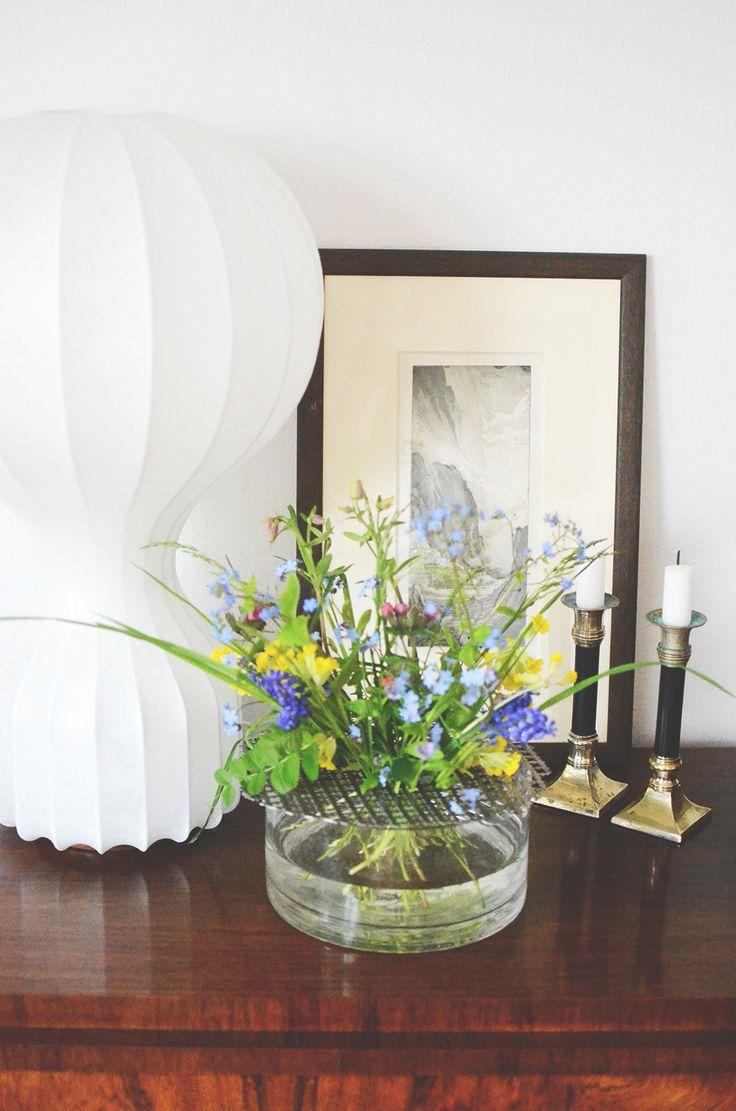 Gör unik vas med nät av klöverplåt