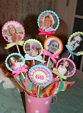 Cute idea for milestone birthday