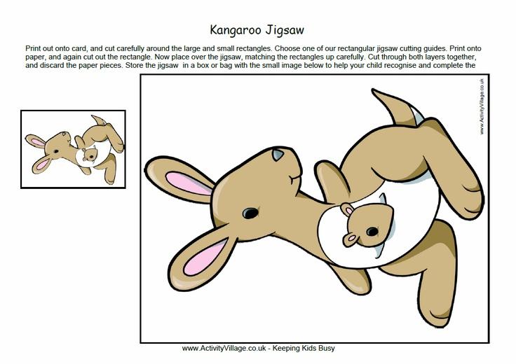 how to make a paper kangaroo easy