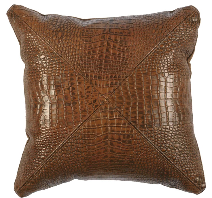 Decorative Pillows Leather : 17 Best images about Decorative Leather Pillows on Pinterest Stitching, Western boots and Studs