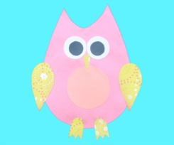 Owl Preschool Art Project