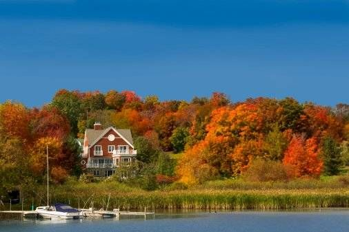 Quebec Eastern Townships in the Fall