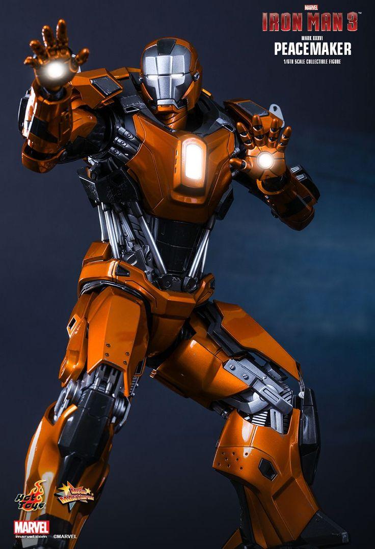 Iron Man Mark 36 ~ Iron man mark peacemaker imgkid the image