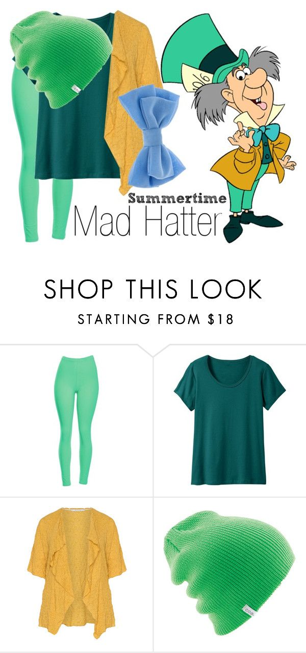 """Mad Hatter~ DisneyBound"" by basic-disney ❤ liked on Polyvore featuring TravelSmith, Oliver Jung, Coal and claire's"