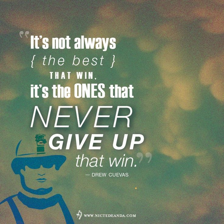 """#military #quotes #inspiration """"It's not always the best that win.."""""""
