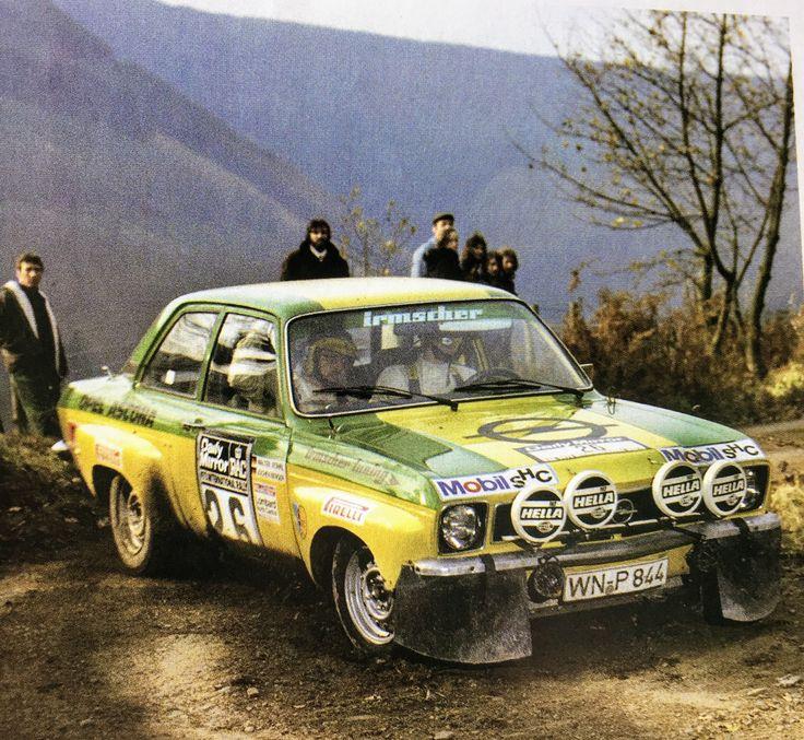 Walter Röhrl Opel Ascona.. Gr 2 Rally Rac