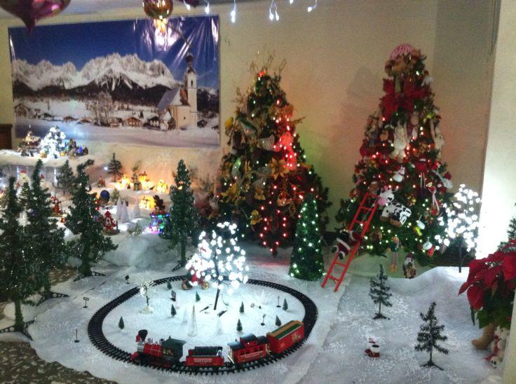 Parte de la villa navide a modelos pinterest villa for Villas navidenas de porcelana