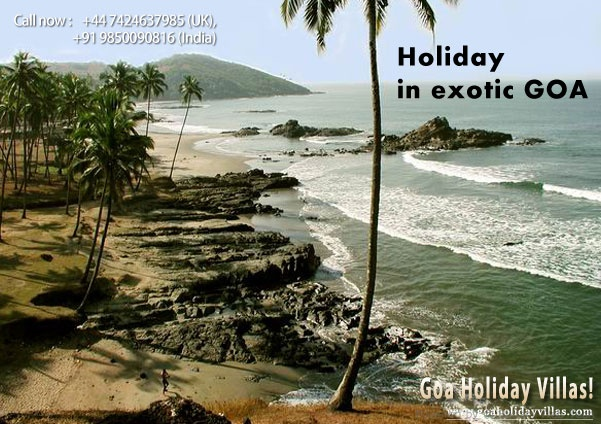 Enjoy holidaying in the exotic locales of Goa!