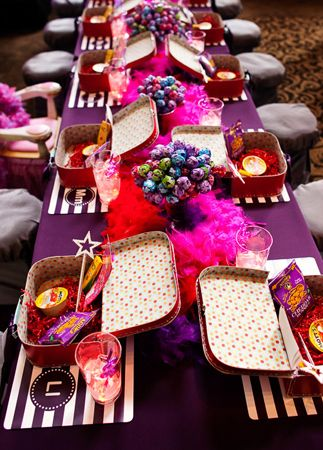pretty kids table