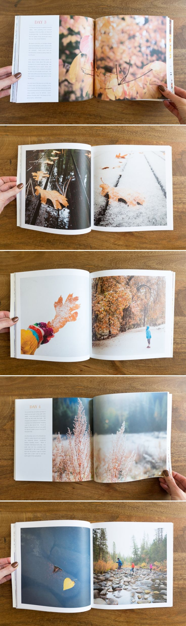 big images displayed on each page  Yosemite Photo Book | suzanneobrienstudio.com